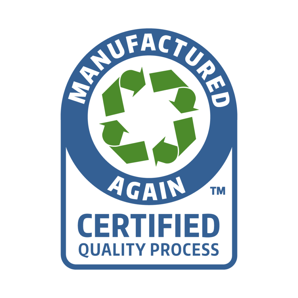 Manufactured Again Certified Quality Process