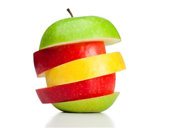 Sliced Apple - FLUX Branding