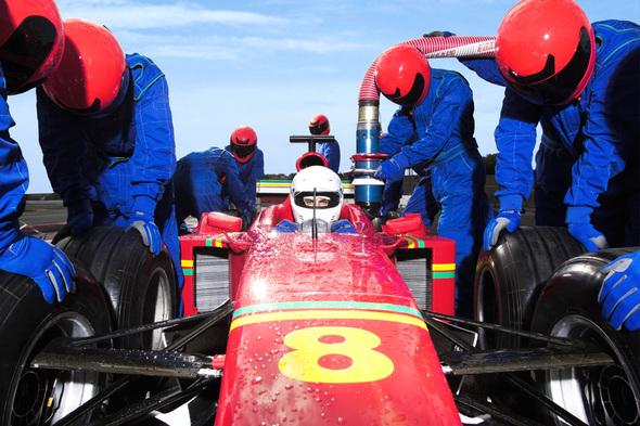 FLUX Branding - Client First - Auto Racing